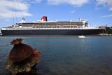 Queen Mary 2 at Garden Island, Sydney, Australia