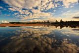 Narrabeen Lagoon reflection