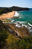 Turimetta Beach and headland