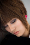Asian beauty dozing on Manly ferry 15 10 09