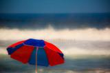 Umbrella close up at Avalon Beach