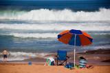 Umbrella at Avalon Beach