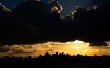 North Sydney skyline at sunset