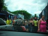 Guatemala-El Salvador Border Crossing