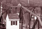 old swing span (preserved)