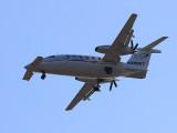 Twin Engine Turbo Prop Piaggio P 180 Avanti Aircraft Nose Canards