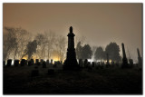 A Foggy Night at the Cemetary