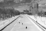 The Rideau Canal in Winter