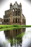 Whitby Abbey Reflected