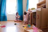 Naomi and Ava at home