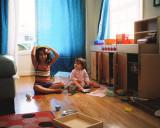 Naomi and Ava at home pt. 1