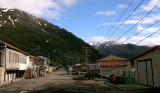 Street in Kazbegi
