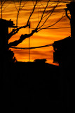 sunset at Saucedilla, Spain