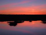 Embalse de Talavan sunset