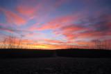 Sunset, Santa Marta de Magasca road