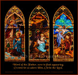 Saint Mary's Catholic Church, Stained Glass Window