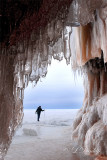 Ice Caves Hiker
