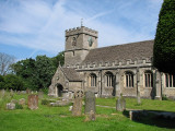 My Ancestors Church, St Georges, Kings Stanley, Gloucestershire, England.