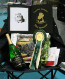 Some more of the prizes she got..