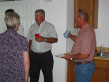 2004 Aug 15, Church Dinner for David