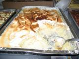 this is a big pan of banana pudding
