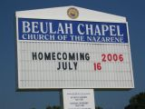 2006 July 16 Homecoming