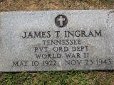 Tennessee PVT ORD Dept World War II May 10, 1922  Nov 23, 1943