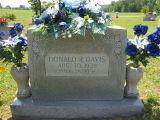 Donald R. Davis Aug 30, 1935 July 26, 1956