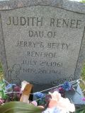 Daughter of Jerry and Betty Renfroe July 29, 1961 Nov 20, 1961