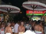 Swamy vedantachar (a) Desikan approaching Parthasarathi to render his mangalasasanams.jpg