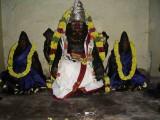 SRI NARASIMHAR BEING ADORNED WITH NEW VASTHRAM