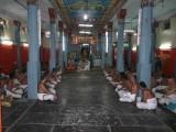 Full view of the Divyaprabanda goshti with HH swamy leading the same.jpg