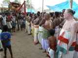 Theerthavari - Mattayadi utsavam - Divyaprabanda goshti.JPG