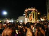 1st day evening - pinnakalai vahanam- thiruvallakeni festive mood (Large).JPG