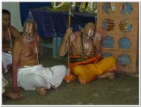 18-HH Sriperumbuthur Embar Jeeyar swamy in the gOshti.jpg