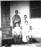 Sri ASR Swamy Dampathi with their two sons - 1945.JPG