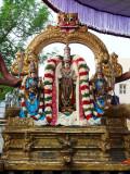 1st day Narasimhar in dharmAdhi peedam.JPG