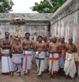 MangalaSaasana Ghosthi on Aacharyans Tirunakshatram-Stotraratnam Sevai.JPG