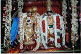 SrI ANDAL and Her Lord sporting the nUtana muththangi