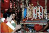 Smt. Padma (Sister of Newyork SrI.V.Sadagopan svami) singing