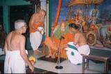 svami in His majestic Asanam