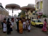 Sri Andal during Veedi Purappadu.JPG
