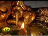 The speciality of the Periya ThiruvaDi -A serpant on the left shoulder.jpg