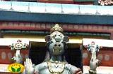 Sri varahasvAmy adorning the vimAnam