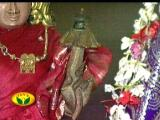 the blossomed lotus on the hands of one of the thAyaR's hands