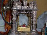 Aradhana Murthy of Periya Nambhigal and the Panchajayam and Chakram which were used for Ramanujar's Panchasamskaram