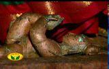 PerumAL as an infant-aNdamum ivalai kadalum avaNigaLUm ellAm amudhu seidha thiruvayiRRAn-Periya Thirumozhi-3-9-3.jpg