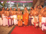 Sri Periya JEyar svAmi and Chinna JEyar svami of Thriupathi Thriumala gracing the occaison.jpg