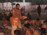 Prasadham being distributed.jpg