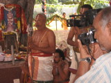 Sri KaNNAmani svAmi speakign on the occasion.jpg